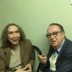 Maurizio Scaparro con Maricla Boggio