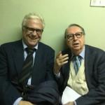 Maurizio Scaparro con Francisco Mele